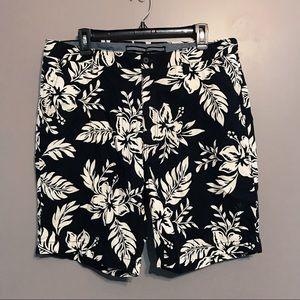Nautica Mens Tropical Cotton Board Shorts Size 36W